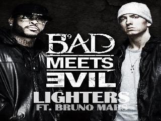 Eminem featuring bruno mars lighters